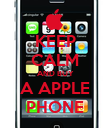KEEP CALM AND BUY A APPLE PHONE - Personalised Poster large