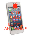 KEEP CALM AND BUY ME AN iPHONE - Personalised Poster large