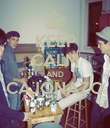 KEEP CALM AND CAJONAZO  - Personalised Poster large
