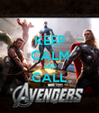 KEEP CALM AND CALL  - Personalised Poster large