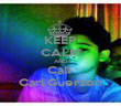 KEEP CALM AND Call  Carl Guerzon - Personalised Poster large