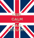 KEEP  CALM AND CALL CTHULHU - Personalised Poster large