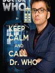 KEEP            CALM          AND                  CALL           Dr. WHO     - Personalised Poster large