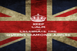KEEP CALM AND CELEBRATE THE  QUEENS DIAMOND JUBILEE - Personalised Poster large