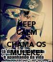 KEEP CALM AND CHAMA OS MULEKE! - Personalised Poster large