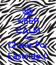 KEEP CALM AND Cheer For Eastside (: - Personalised Poster large