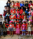 KEEP CALM AND COLLECT  - Personalised Poster large
