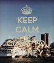 KEEP CALM AND COME TO  SYDNEY - Personalised Poster large