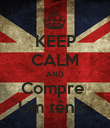 KEEP CALM AND Compre  Um tênis  - Personalised Poster large