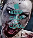 KEEP CALM AND COOL  - Personalised Poster large