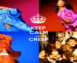 KEEP CALM AND CREEP  - Personalised Poster large