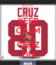 KEEP CALM AND CRUZ ON - Personalised Poster large