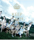 KEEP CALM AND CURTA AS MISIRICAS - Personalised Poster small