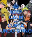 KEEP CALM AND CURTA MUNDO SHINOBI - Personalised Poster large
