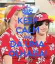 KEEP CALM AND DÁ UMA OLHADA! - Personalised Poster large