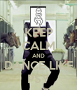 KEEP CALM AND DANCE LIKE PSY - Personalised Poster large