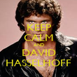 KEEP CALM AND DAVID HASSELHOFF - Personalised Poster large