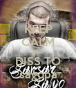 KEEP CALM AND DISS TO sagopa - Personalised Poster large