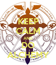 KEEP CALM AND DO ALCHEMY - Personalised Poster large