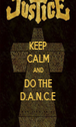 KEEP CALM AND DO THE D.A.N.C.E - Personalised Poster large