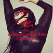 KEEP CALM AND DON'T DRINK THE KOOL-AID - Personalised Poster large