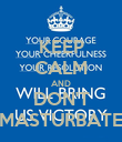 KEEP CALM AND DON'T MASTURBATE - Personalised Poster large