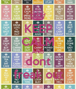 KEEP CALM AND dont freak out - Personalised Poster large