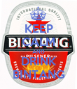 KEEP CALM AND DRINK BINTANG - Personalised Poster large