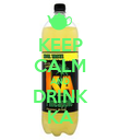 KEEP CALM AND DRINK KA - Personalised Poster large