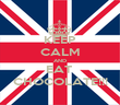 KEEP CALM AND EAT  CHOCOLATE!!! - Personalised Poster large