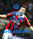 KEEP CALM AND EL SHAARAWY - Personalised Poster large