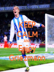 KEEP CALM AND Enjoy Griezmann - Personalised Poster large