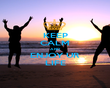 KEEP CALM AND ENJOY UR LIFE - Personalised Poster large