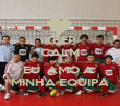 KEEP CALM AND EU  AMO A  MINHA EQUIPA - Personalised Poster large