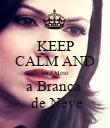 KEEP CALM AND Eu Odeio a Branca   de Neve - Personalised Poster large
