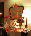 KEEP CALM AND FAÇA BONITO! - Personalised Poster large