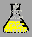 KEEP CALM AND FAÇA CAIPIRÃO - Personalised Poster large