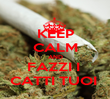 KEEP CALM AND FAZZI I  CATTI TUOI  - Personalised Poster large
