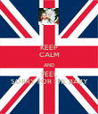 KEEP CALM AND FEEL SORRY FOR THE BABY - Personalised Poster large