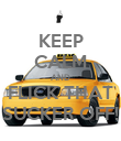 KEEP CALM AND FLICK THAT SUCKER OFF! - Personalised Poster large