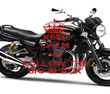 KEEP CALM AND FOLLOW THE BIG BLACK - Personalised Poster large