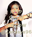 KEEP CALM AND FOLLOW @Zendaya96 - Personalised Poster large