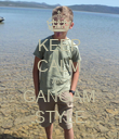 KEEP CALM AND GANGAM STYLE - Personalised Poster large