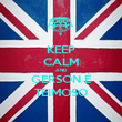 KEEP CALM AND GERSON É TEIMOSO - Personalised Poster large