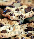 KEEP CALM AND GIVE ME  COOKIE - Personalised Poster large