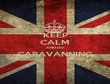KEEP CALM AND GO CARAVANNING  - Personalised Poster large