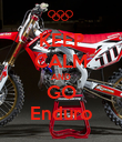 KEEP CALM AND GO Enduro - Personalised Poster large