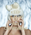 KEEP CALM AND GO ON BTWBall - Personalised Poster large