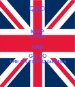 KEEP CALM AND GO TO THE OLYMPIC GAMES - Personalised Poster large