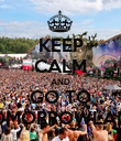 KEEP CALM AND GO TO TOMORROWLAND - Personalised Poster large